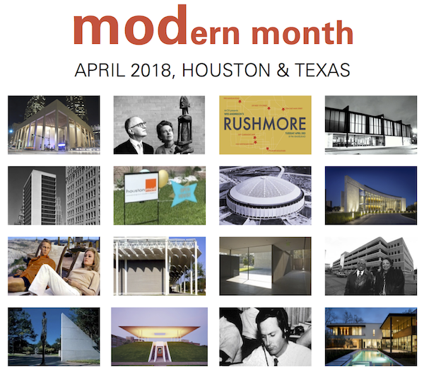 April is MODern Month in Houston & Texas!